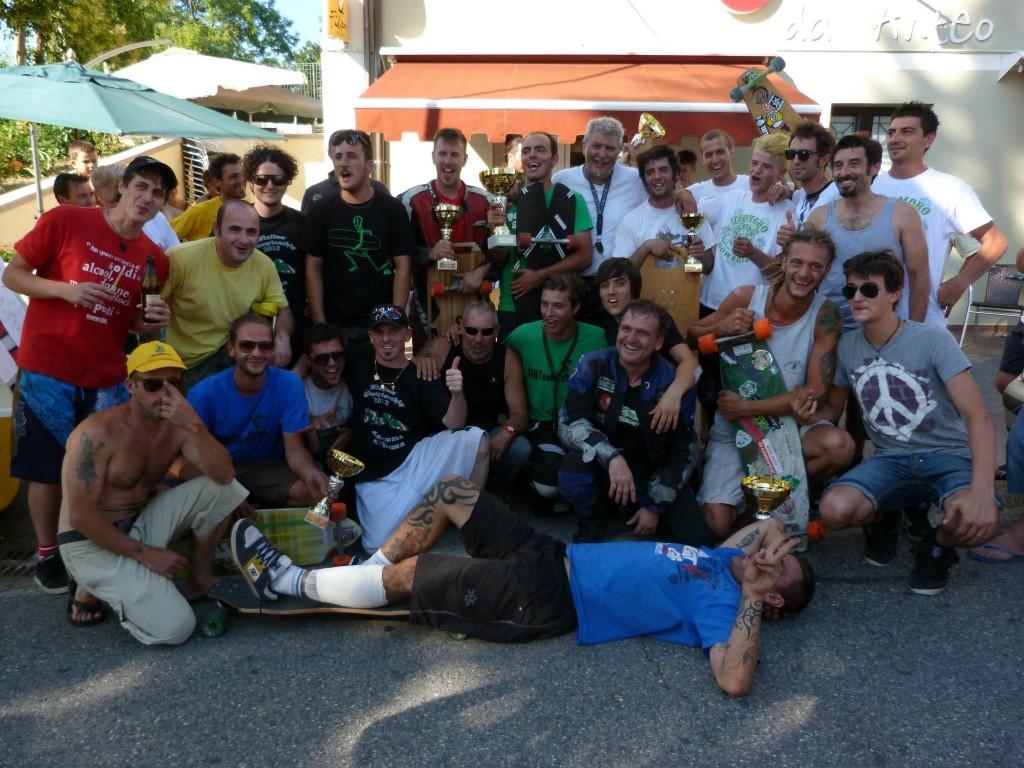 Il gruppo presente a Petriano per la terza tappa di Campionato Italiano Fics